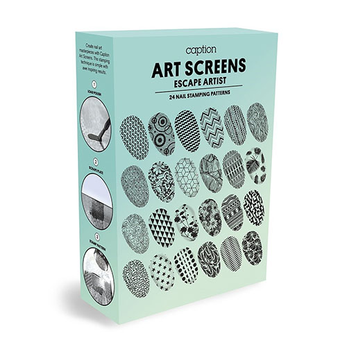 Young Nails Placa Stamping - Escape Artist