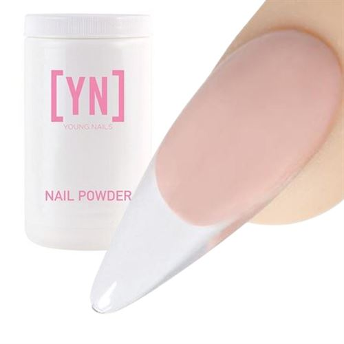 Young Nails Polvo Acrílico Core Clear Transparente 660g