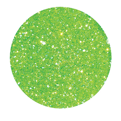 Young Nails Polvo Glitter  7g Incredible Green